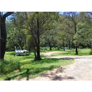 Heifer Creek camping area