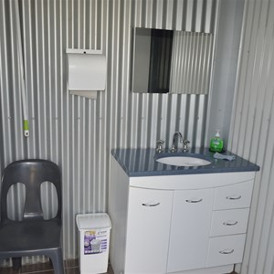 Ladies Showers at Yerong Creek Camp Ground
