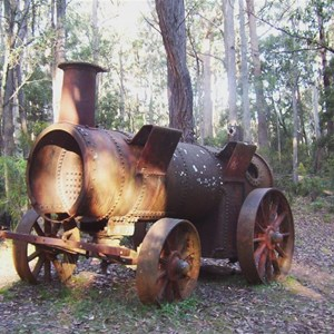 tractor at Lowden Forest Park