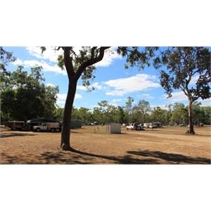 Spacious camping grounds