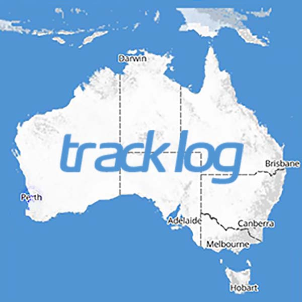 Track Log Mud Map