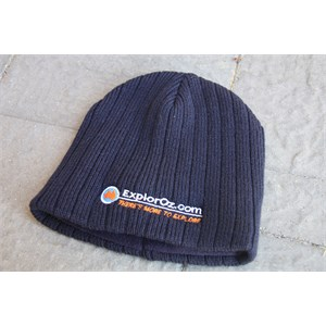 Rib Knit beanie - one size fits all