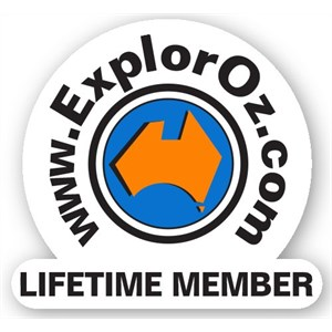 Lifetime Member Sticker