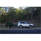 Prado and Camping Trailer