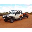 Australia 2012 - 76 Series Landcruiser and TL8s Camper